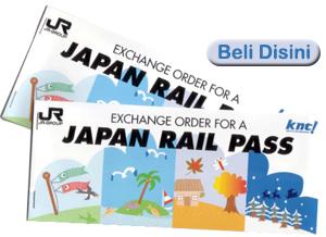 jual japan rail pass